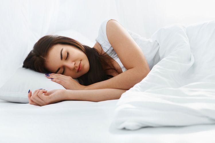 Tidur yang cukup baik untuk kesehatan dan dapat mengatasi stres.