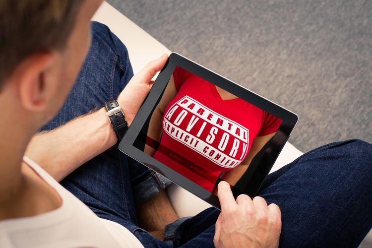 Situs dewasa di tablet