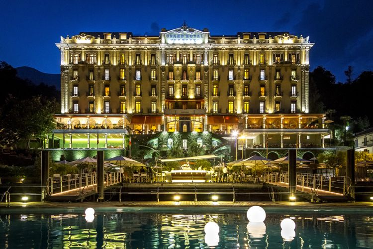 Grand Hotel Tremezzo di Italia.