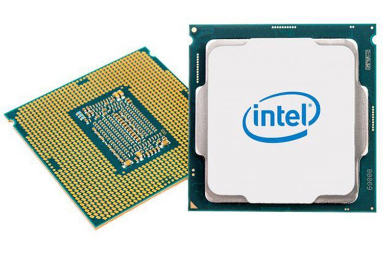 Ilustrasi prosesor Intel Core generasi ke-8.