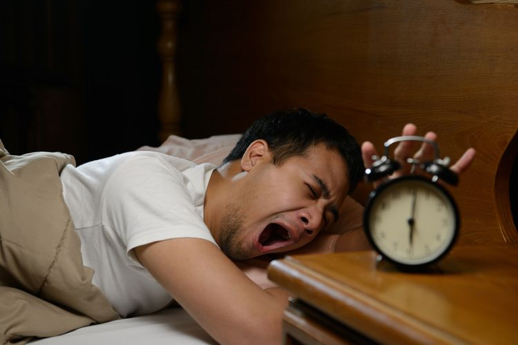 Ilustrasi malas bangun tidur