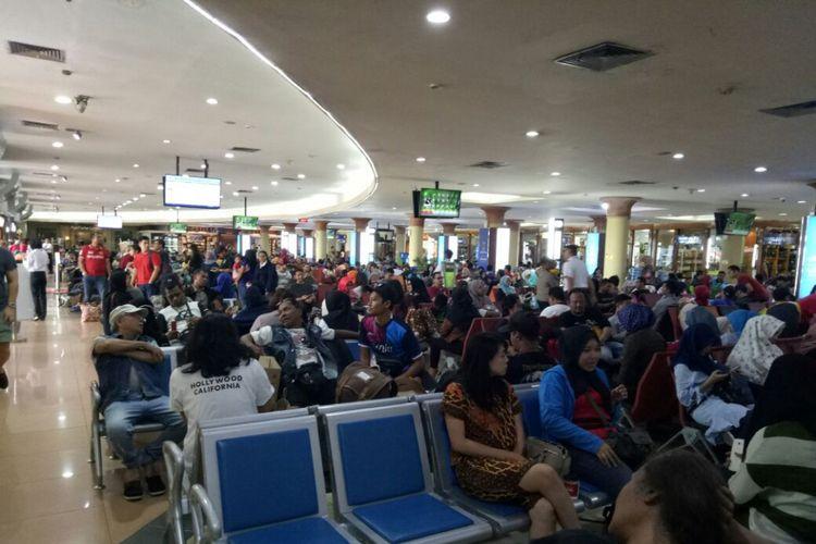 Suasana Bandara Adisutjipto, Yogyakarta, Minggu (1/10/2017).