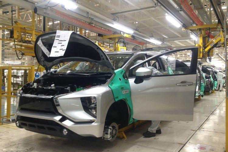 Proses produksi Mitsubishi Xpander.