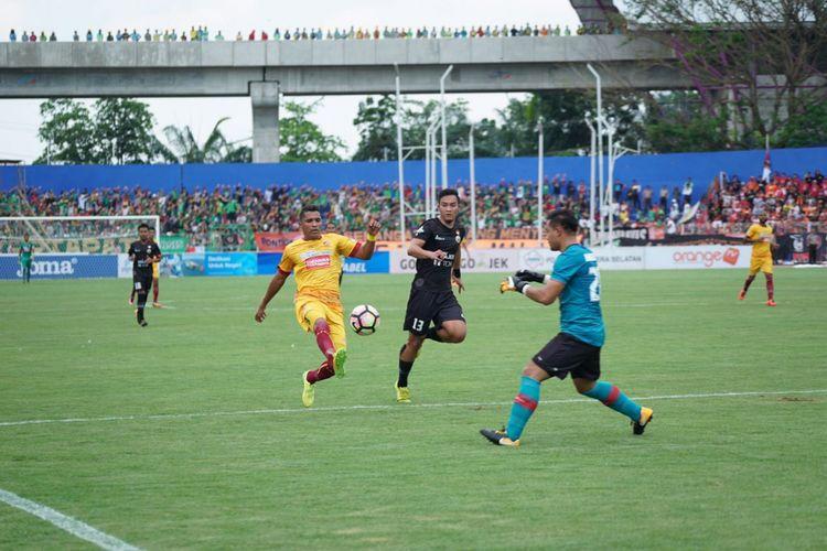 Kemenangan atas Persija Jakarta menjadi modal awal Alberto Beto Gonzalves dan kawan kawan curi poin lawan Perserui.