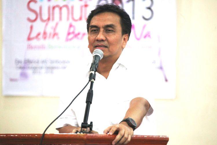 Effendi Simbolon mengatakan, maraknya aksi kriminalitas jalanan seperti begal dan jambret di Sumut, Rabu (11/10/2017)