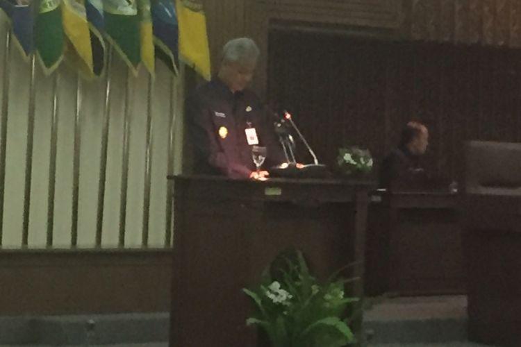 Pemerintah Jawa Tengah dan DPRD Jawa Tengah bersepakat atas perubahan APBD 2017 di Semarang, Kamis (21/10/2017)