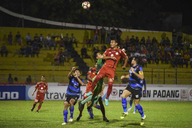 Semen Padang optimis meraih poin di Lamongan