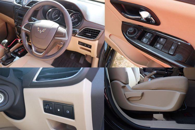Tombol-tombol yang bisa dioperasikan dari kursi pengemudi.