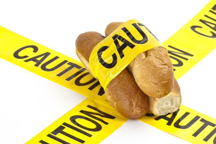 Ilustrasi roti dan karbohidrat