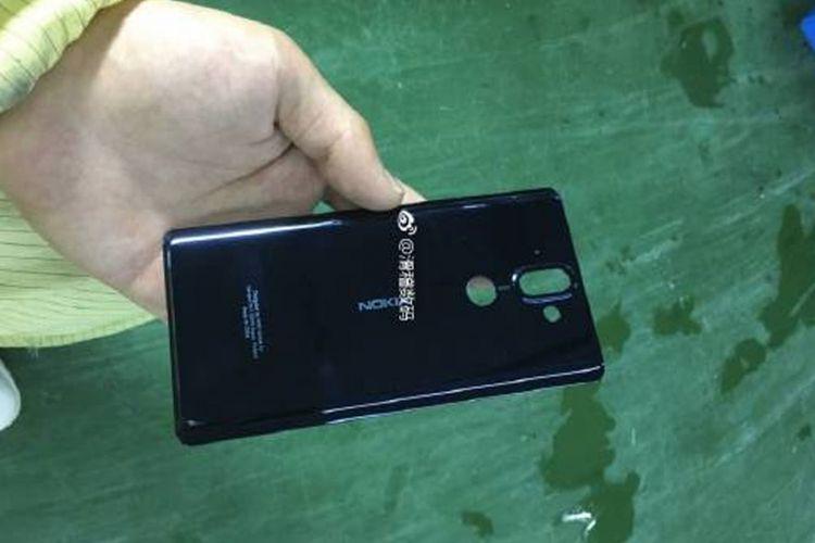 Bocoran casing belakang Nokia 9