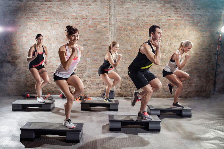 Ilustrasi aerobik