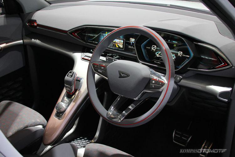 Interior DN Trec penantang Suzuki Ignis.