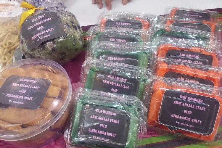 Produk kuliner Kolaka Utara, Baje Bandong dipamerkan dalam Kemilau Sulawesi 2017 di Surabaya