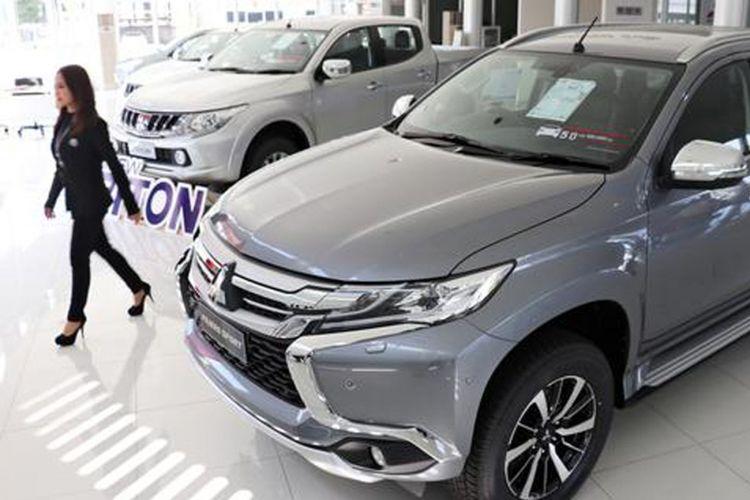 Ilustrasi salah satu diler Mitsubishi Thailand.