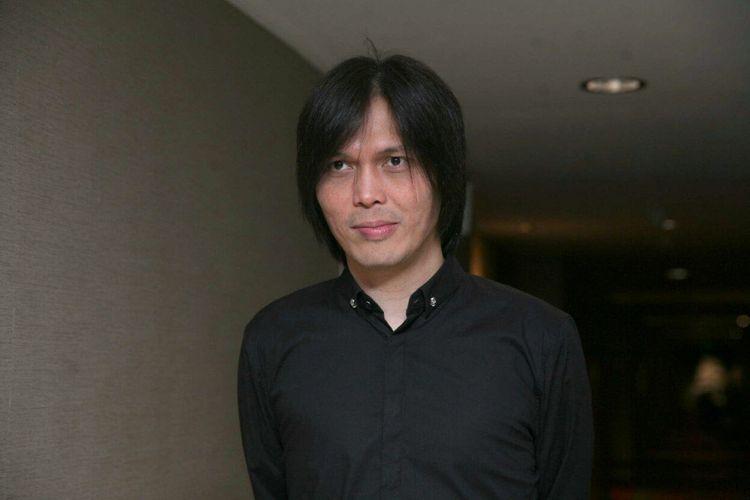 Once Mekel saat diwawancarai di Hotel Century, Senayan, Jakarta Selatan, Selasa (14/11/2017).