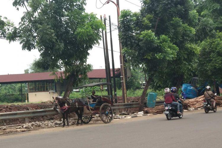 Jalan Swadarma, Pesanggrahan, Jakarta Selatan.