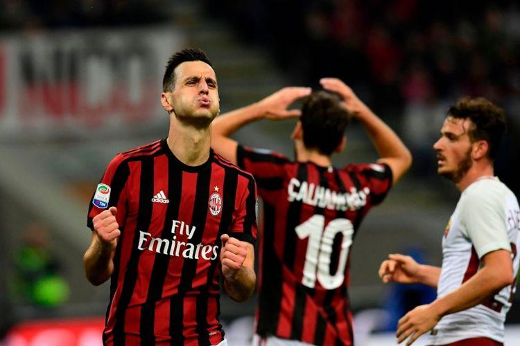 Striker AC Milan, Nicola Kalinic.
