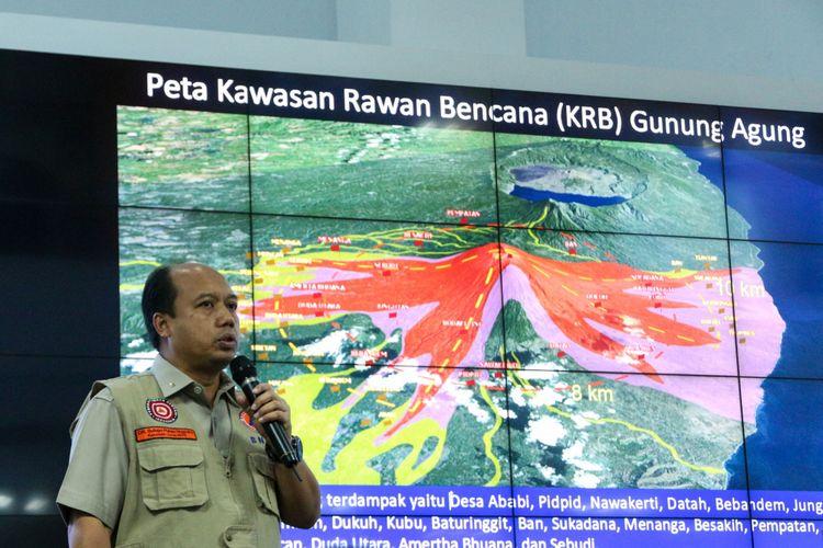 Kepala Pusat Data Informasi dan Humas Badan Nasional Penanggulangan Bencana (BNPB) Sutopo Purwo Nugroho