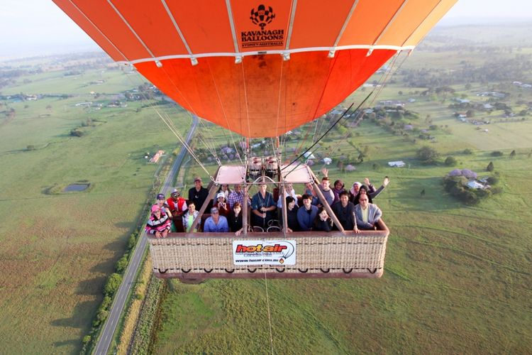 Menikmati Matahari Terbit Dari Balon Udara Di Gold Coast Kompas Com