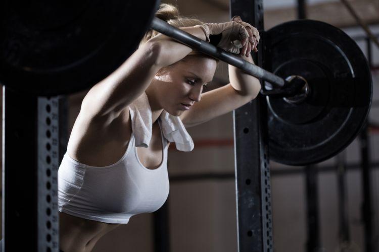 ilustrasi bosan di gym