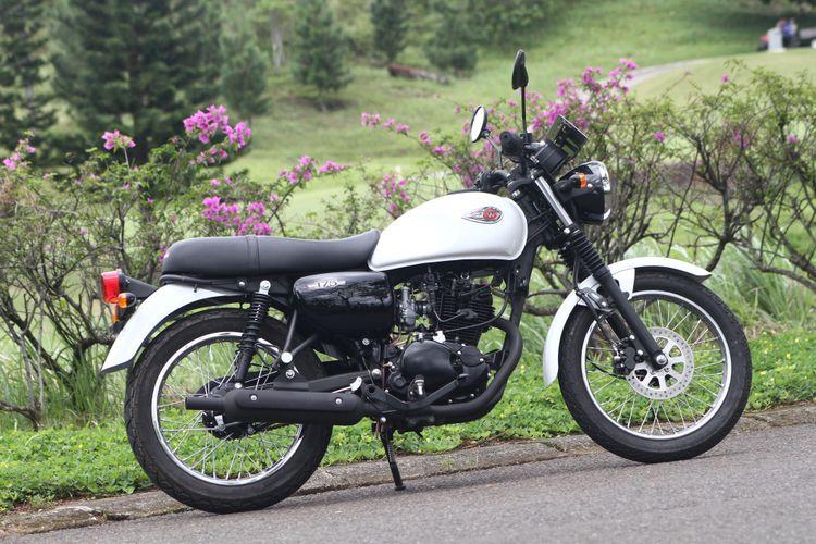 Kawasaki W175 juga menjadi barang ekspor