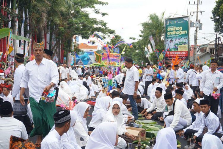 Festival Endog endogan di Banyuwangi
