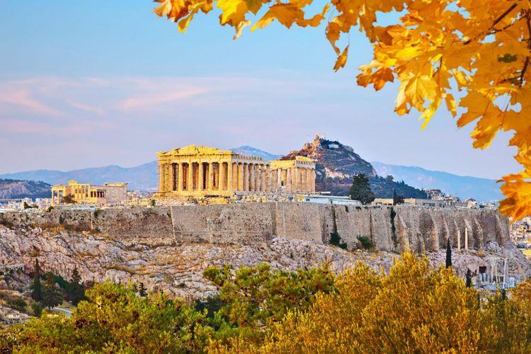 Kota Athena, Yunani.