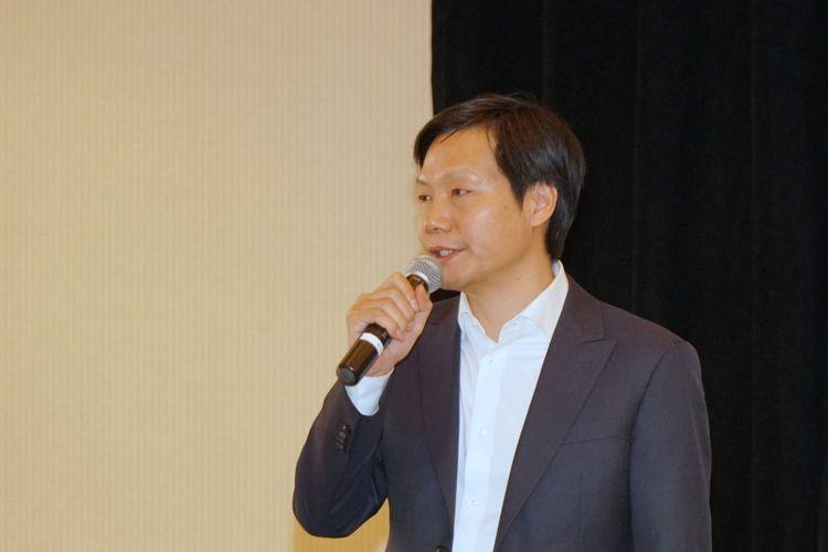 CEO Xiaomi Lei Jun dalam sesi tanya jawab di sela acara Qualcomm Snapdragon Summit 2017 di Hawaii, Amerika Serikat, Selasa (5/11/2017).