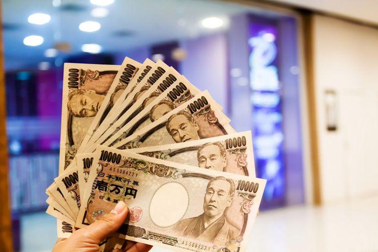Ilustrasi: mata uang yen Jepang