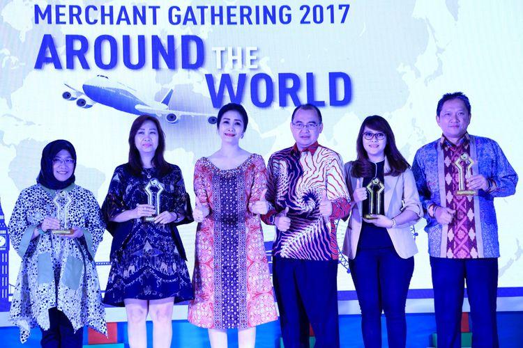 Merchant Gathering 2017 Around The World Bank BRI di Jakarta Rabu (13/12)