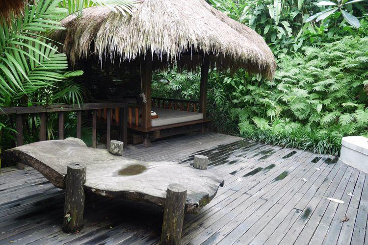 Fasilitas di residence tejasuara terinspirasi dari budaya Sumba di Como Shambhala Estate, Bali, Jumat (15/12/2017)