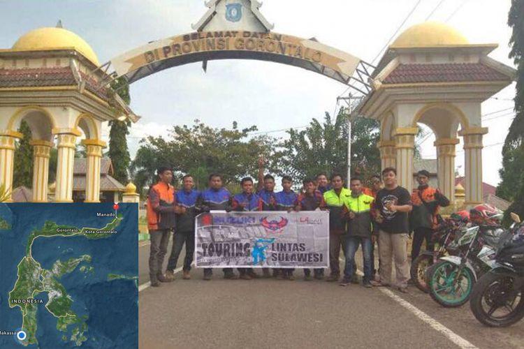 SMART Touring Lintas Sulawesi 2017.