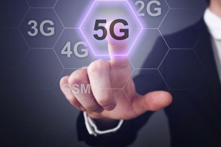 Ilustrasi jaringan 5G