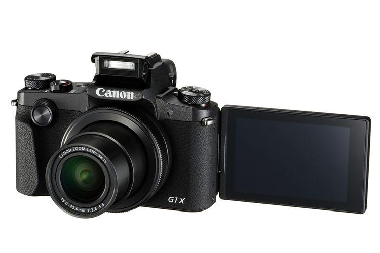 Kamera saku Canon PowerShot G1X Mark III.