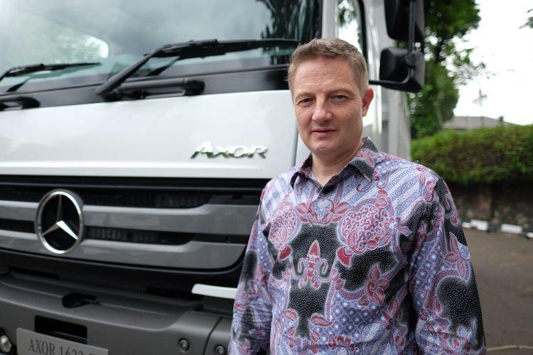 Presiden Direktur Daimler Commercial Vehicles Indonesia (DCVI) Markus Villinger