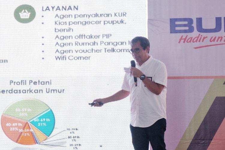 Direktur Digital and Strategic Portfolio Telkom, David Bangun