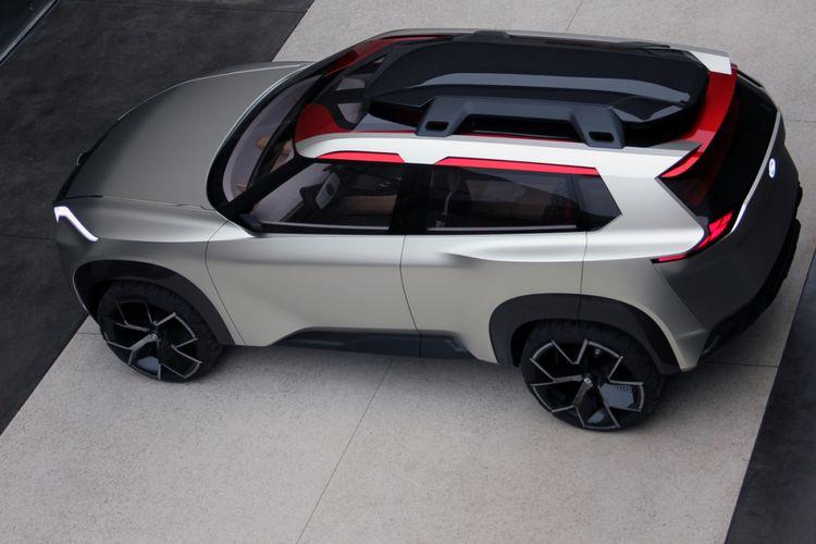 Konsep Nissan Xmotion.