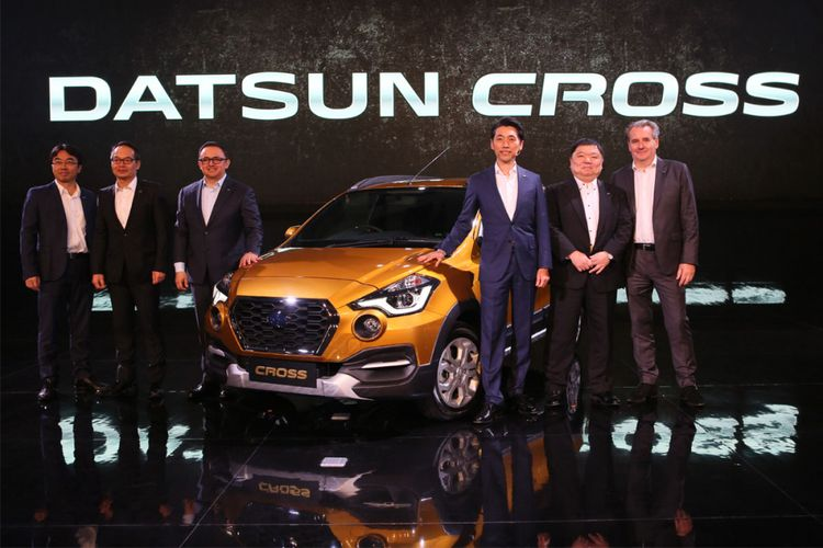 Datsun Cross world premiere di Indonesia, Kamis (18/1/2018).