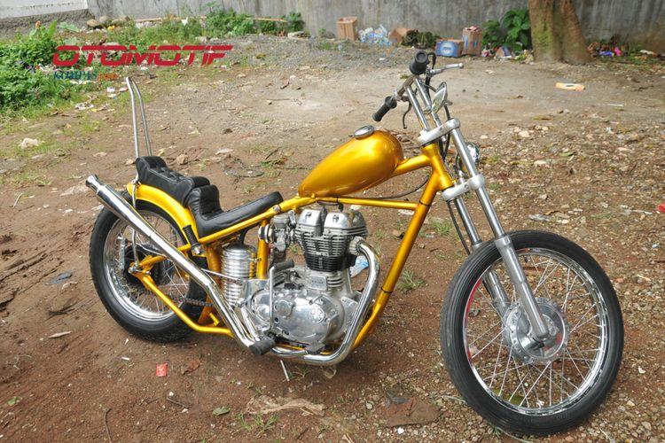 Chopper milik Presiden Joko Widodo.