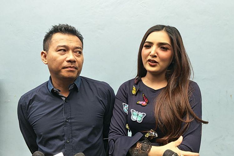 Anang Hermansyah dan Ashanty saat ditemui di Studio TransTV, Mampang, Jakarta Selatan, Kamis (25/1/2018).