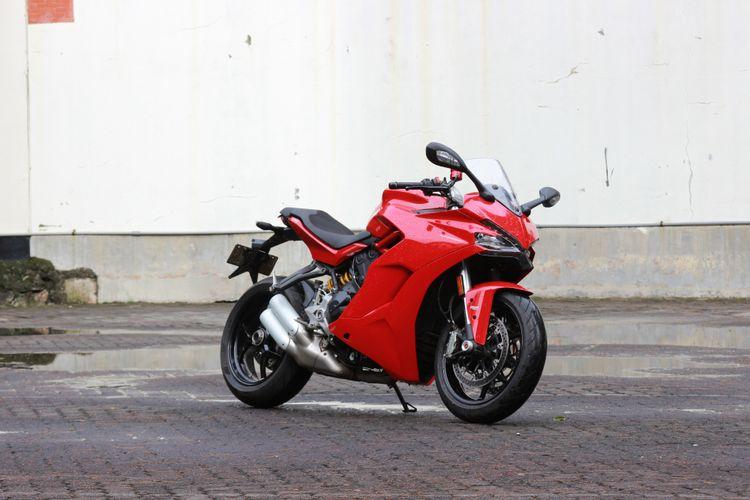 Ducati Supersport bisa disebut dengan Panigale versi jinak