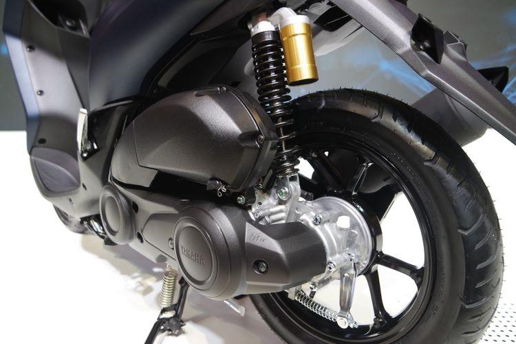 Lexi menggunakan mesin serupa NVX 125 yang dijual di Thailand, Mesin keduanya merupakan versi Aerox 155 dengan kapasitas lebih kecil.