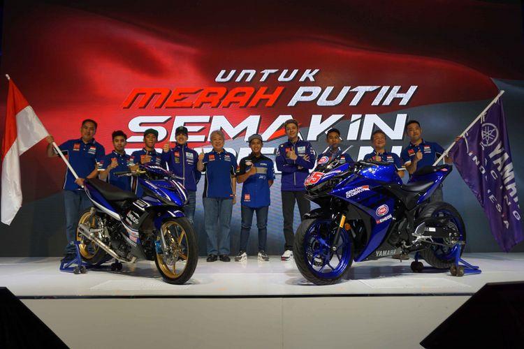 Pebalap Yamaha Racing Indonesia 2018
