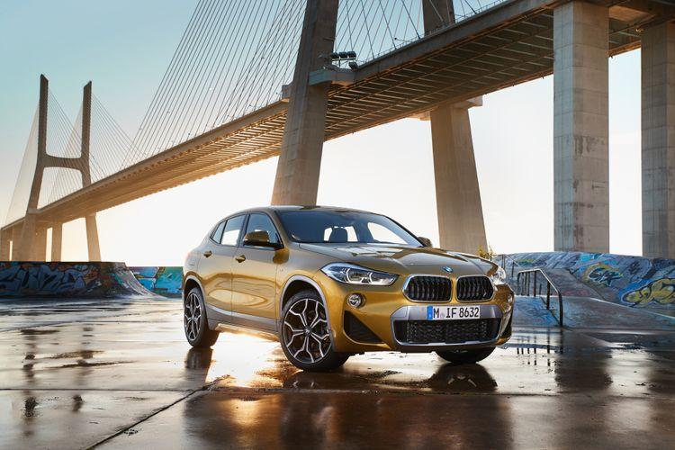 Desain BMW X2 punya daya pikat yang kuat bagi pecinta SUV modern