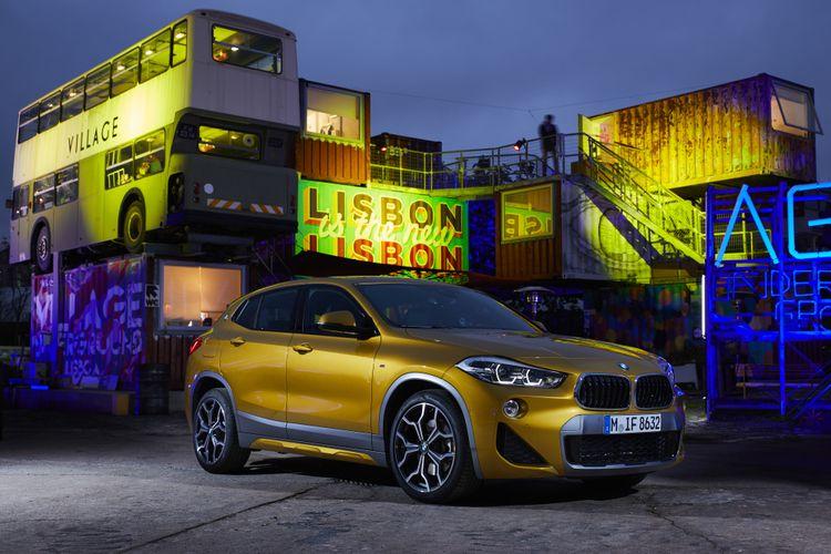 BMW X2 cocok untuk jiwa muda yang dinamis dan sporty