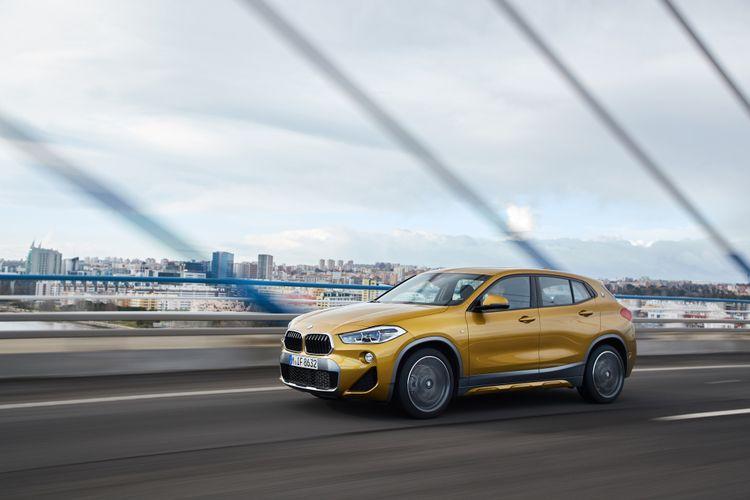 BMW berikan X2 pilihan tipe mesin yaitu diesel dan bensin yang sama-sama bertenaga