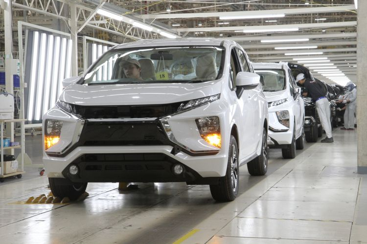 Pabrik Mitsubishi di Indonesia.