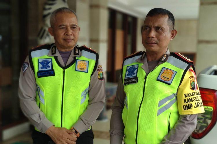 Dirlantas Polda Metro Jaya Kombes Halim Pagarra menetapkan MJ sebagai tersangka pelaku tabrak lari produser RTV, Minggu (11/2/2018)