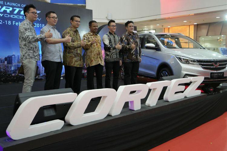 Peluncuran Wuling Cortez di Medan