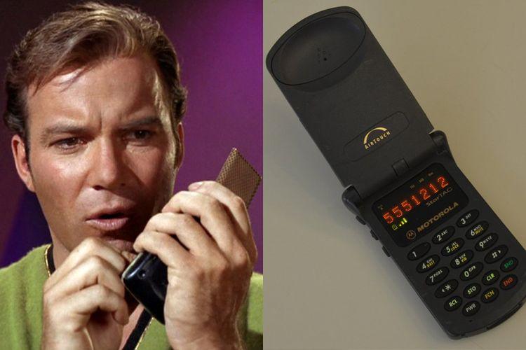 Salah satu gadget yang dipakai di serial Star Trek.
